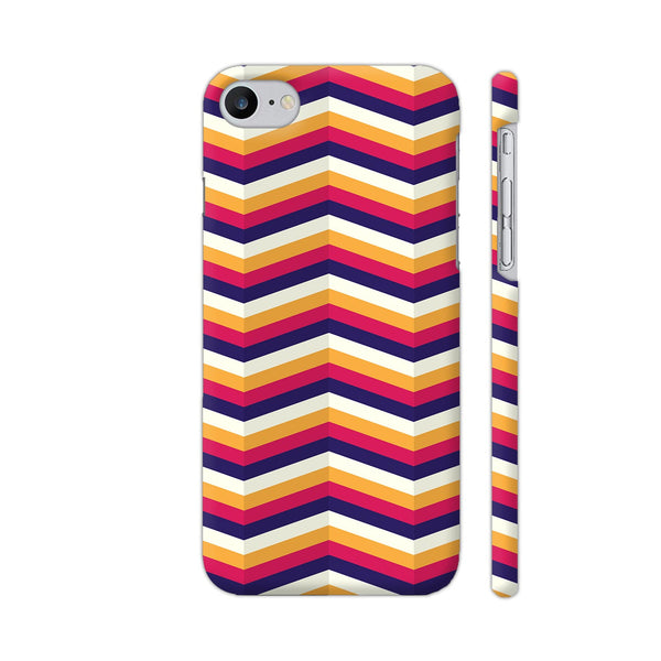 Zig Zag Pattern iPhone 7 Cover | Artist: Malls