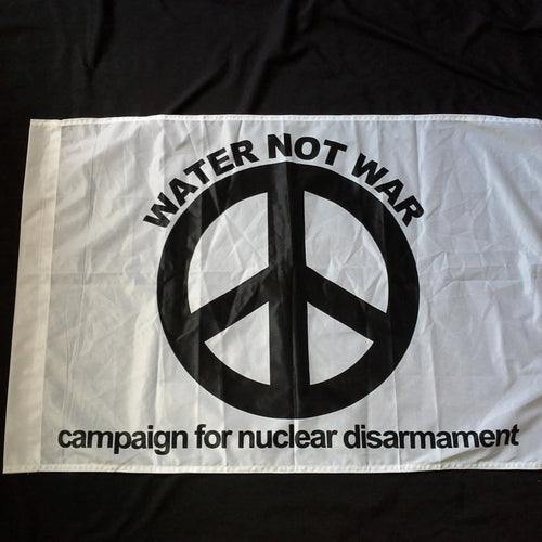 Water not War CND flag