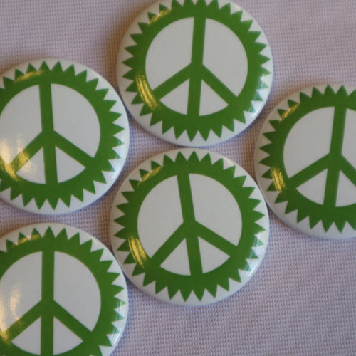 Scottish Green Party CND Badge