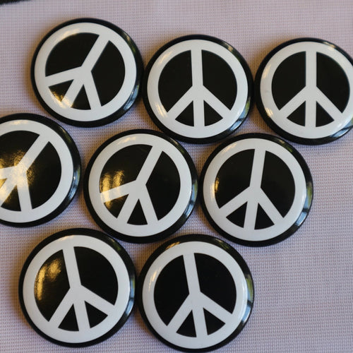 Classic CND Badge (Black/White)
