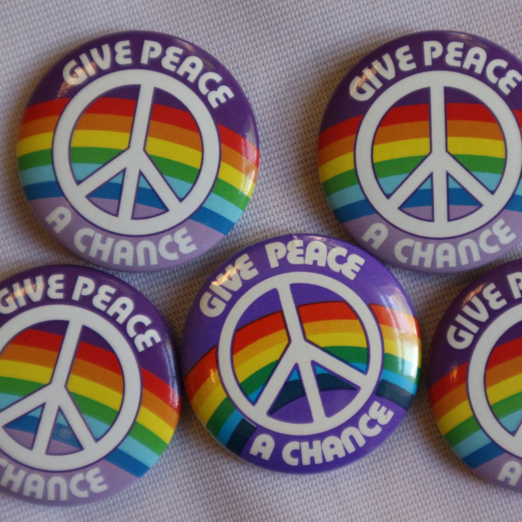Give Peace a Chance Badge
