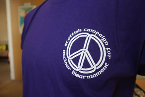 Purple Scottish CND T-shirt