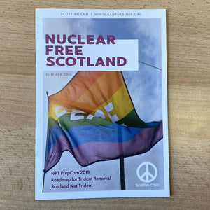 Spring/Summer 2019 Edition of Nuclear Free Scotland