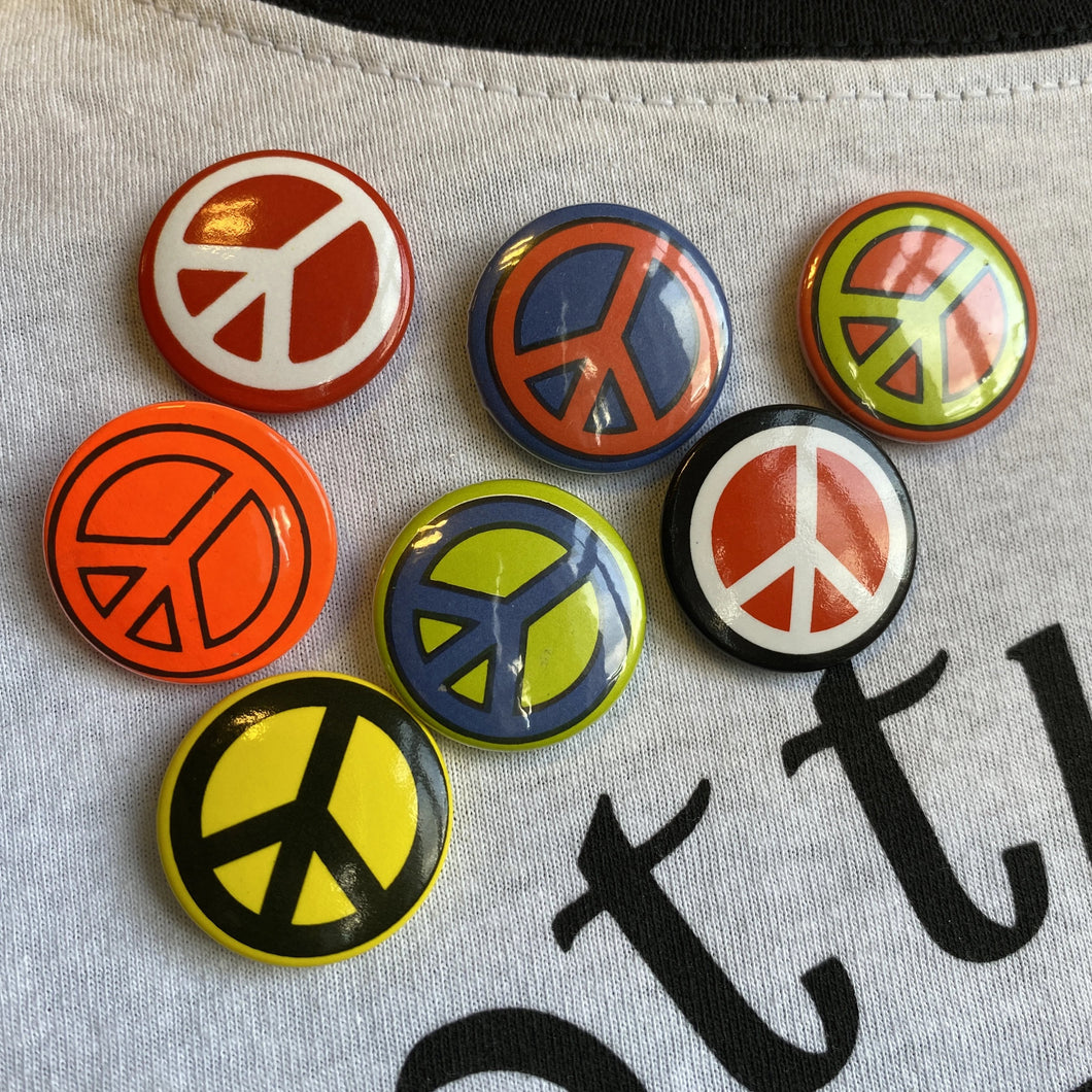 Classic CND Badge (Assorted Colours)