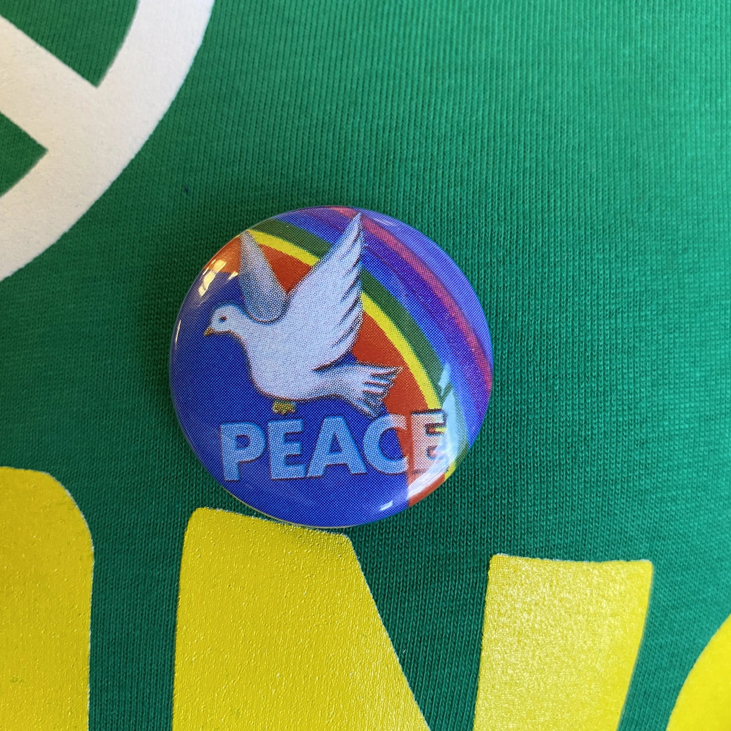 Peace Dove Badge