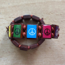 Load image into Gallery viewer, Peace Wooden Bracelets