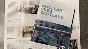 Autumn/Winter 2019 Edition of Nuclear Free Scotland