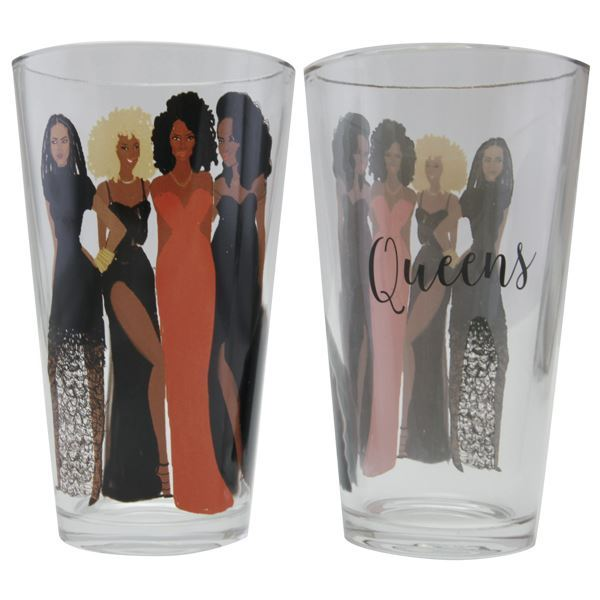 Sister Friends Drinking I Glass Set - Nicholle Kobi