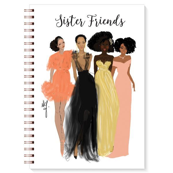 "Nicholle Kobi x AAE I ""Sister Friends ""  Journal - Nicholle Kobi"