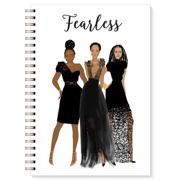 "Nicholle Kobi x AAE I "" Fearless""  Journal"