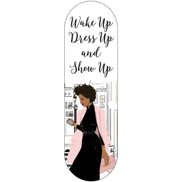 "Nicholle Kobi x AAE  I"" Wake Up, Dress Up and Show Up""  Phone Grip - Nicholle Kobi"
