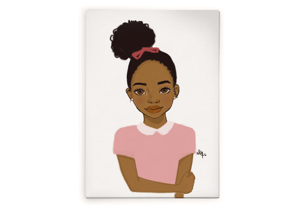 Brown kids Cards 2 - Nicholle Kobi