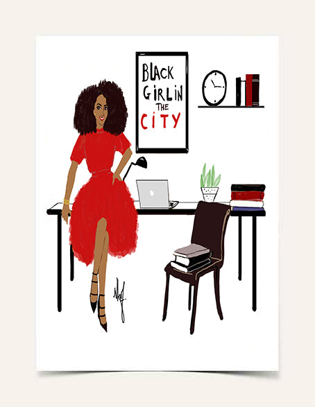 """Black Girl In The City"" 