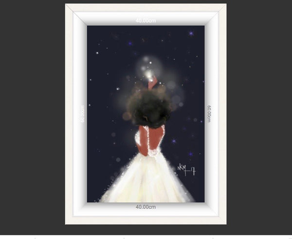 Stars Believe in Your Magic | Art Print