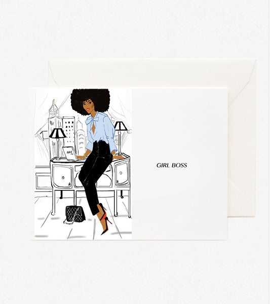 Girl Boss card - Nicholle Kobi