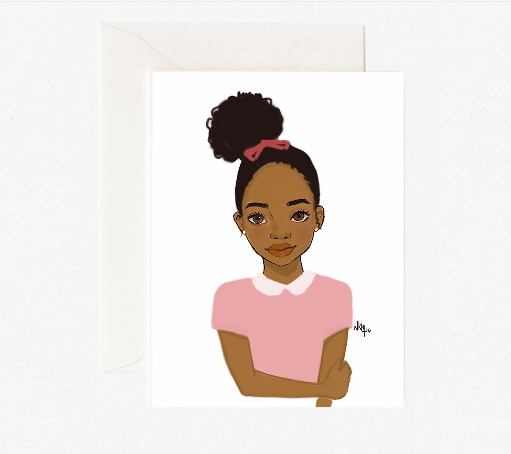 Brown Kids | Greeting Card - Nicholle Kobi