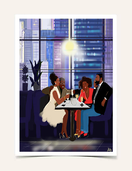 """Friends Giving"" 