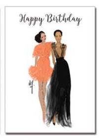 Happy Birthday  | Greeting Card - Nicholle Kobi