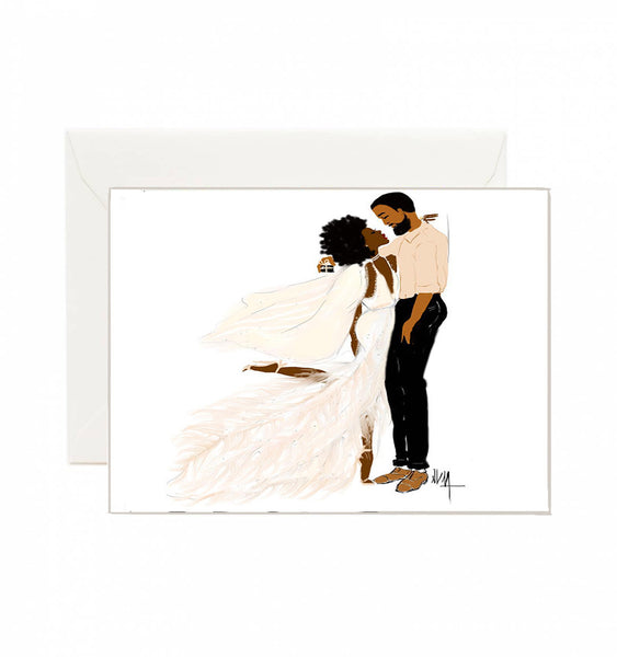 Love Je T'aime | Greeting Card - Nicholle Kobi