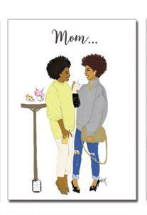 Queen Mom | Greeting Card - Nicholle Kobi