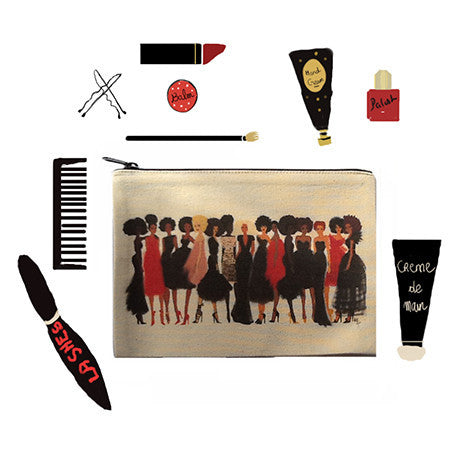 "Make up bag ""Shade of excellence"" - Nicholle Kobi"