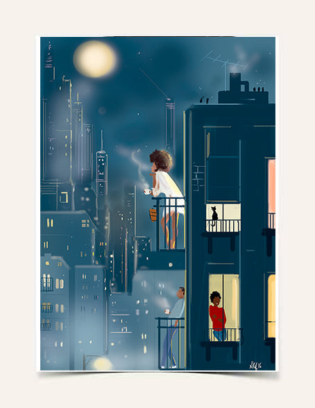 """October Moon"" 
