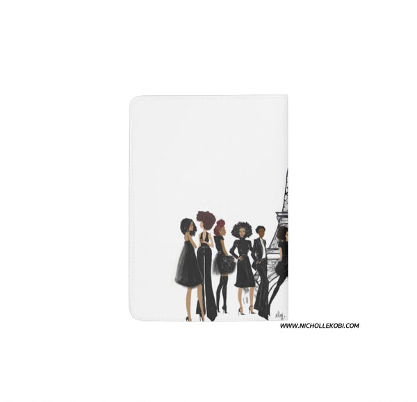 Parisian Noire Passport Holder - Nicholle Kobi