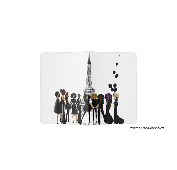 Parisian Noire Passport Holder