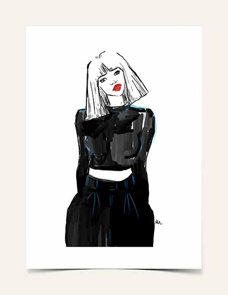 """Red Lippy, Red Lippy"" 
