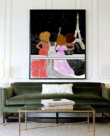 """Paris By Night With My Girls"" 