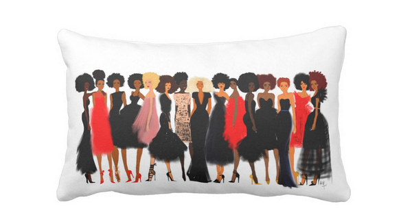 "Nicholle Kobi "" QUEENS Collection ""Lumbar Pillow - Nicholle Kobi"