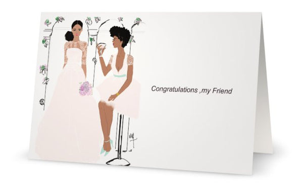 Hooray Congratulations | Greeting Card - Nicholle Kobi