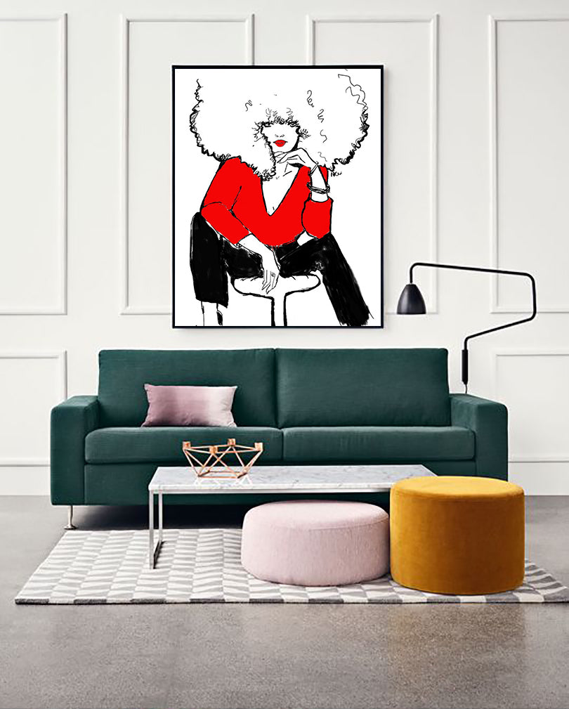 """Rouge and Black"" 