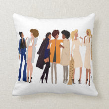 Sisters Love Edition I Accent Square Pillows
