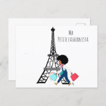 Ma Petite Fashionista | Greeting Card