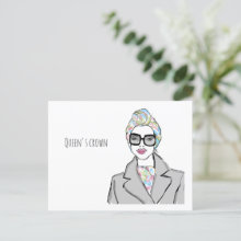 Queen's Crown | Greeting Card