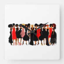 Wall Clock The Shades of Excellence I Nicholle Kobi
