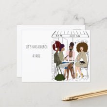BRUNCH A PARIS | Greeting Card