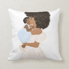 Mama's Love I  Accent Square Pillows