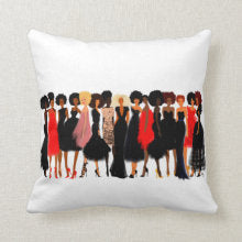 Shade Of Excellence - Sisters Love Edition I Accent Square Pillows