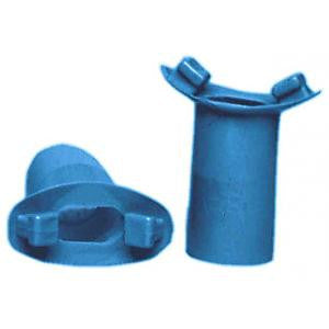 Vacumed Reusable Soft Blue Vinyl Mouthpiece
