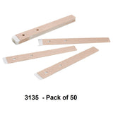 3135 - Pack of 50 Infant disposable attachment tapes for BCI infant wrap probe