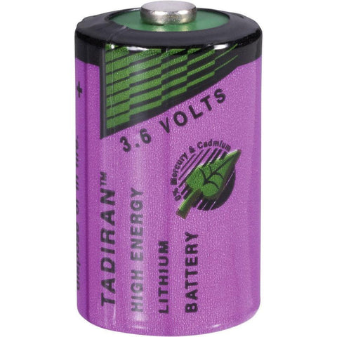 Half AA size, 3.6 Volt Lithium Battery for SPO Medical's PulseOx 5500 & CheckMate Fingertip Pulse Oximeters.