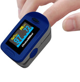 MD300C2 ChoiceMMed Fingertip Pulse Oximeter Being Used