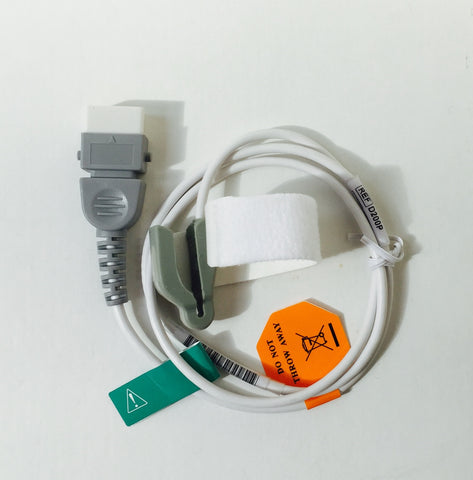 Silicon Single Patient Multi Use Oximetry Sensor-x3 Sizes-Choose BCI or Nellcor Compatible