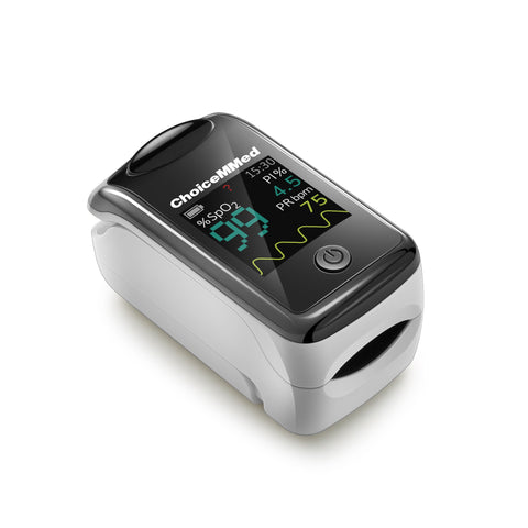 MD300 CI216 Low Perfusion Fingertip Pulse Oximeter - Front View