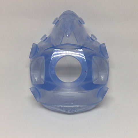 Hans Rudolph 7400 Series Vmask™ - Reusable Oro-Nasal Mask : Front View