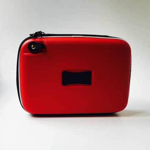 Red Zipped Carry Case with Storage Compartments for the NT1D Monitor Range
