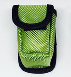 Green Fingertip Oximeter Pouch / Carry Case