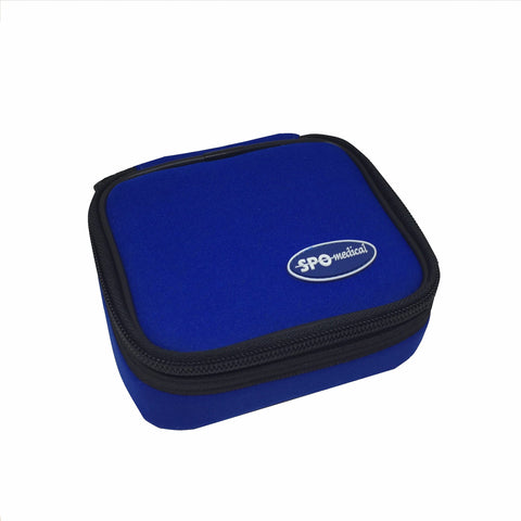Carry Case for Handheld or Wrist Pulse Oximeter - Closed